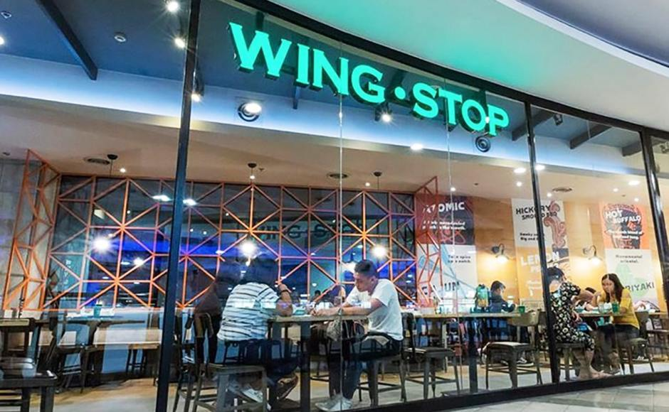 WingStop - TriNoma, Manila (Philippines) | Products Seen: [Lick Chair – PU Seat]