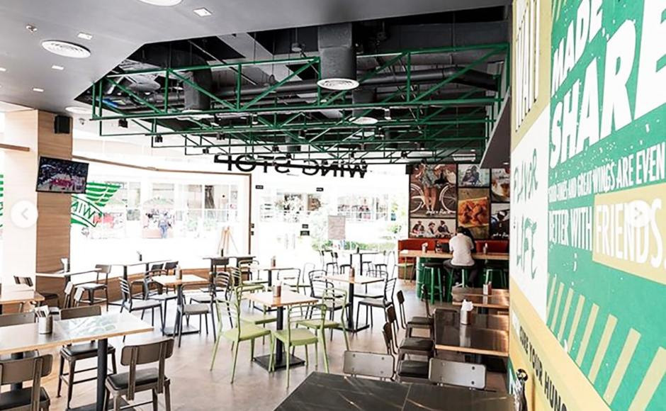Wingstop - Solenad 3 Nuvali, Manila (Philippines) | Product Seen: [Lick Chair – PU Seat]