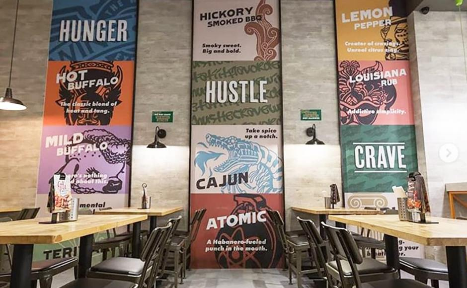 WingStop - Estancia Mall, Manila (Philippines) | Products Seen: [Lick Chair – PU Seat]