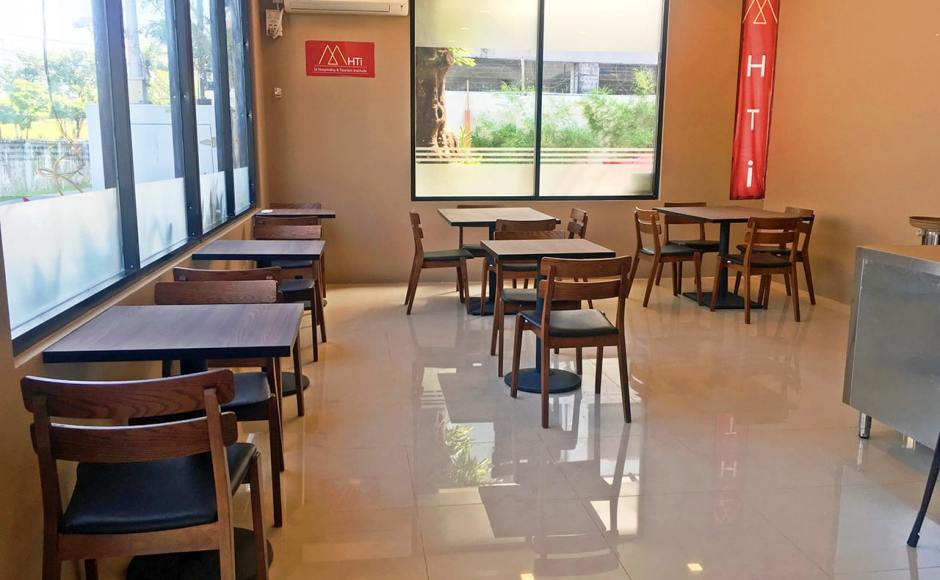 M Hospitality & Tourism Institute, Kamayut Township - Yangon, Myanmar | Product Seen: [Lisbon Chair & Customised Laminate Tabletop + Cosson Table Base & Pyram Table Base - V2]