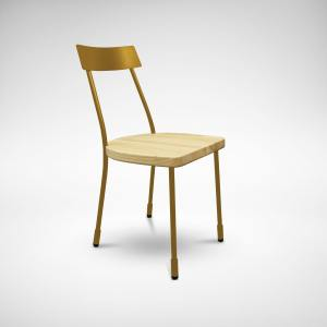 Matthew Side chair - Gold
