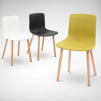 Plug + Round Leg Side Chair