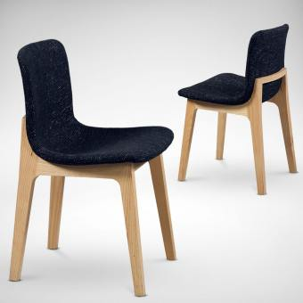 Pino + Square Leg Side Chair