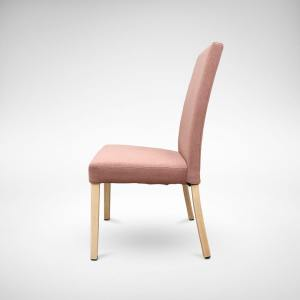 Portugese Side Chair – Dull Coral