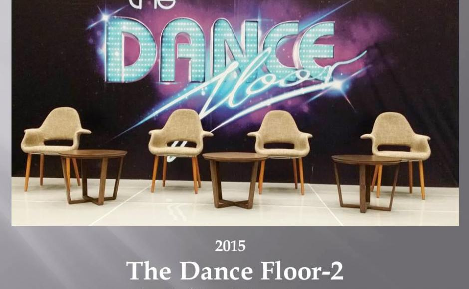 The Dance Floor - Mediacorp Products Seen: [Sakai – Plain Armchair & Rocket Coffee Table]<br />