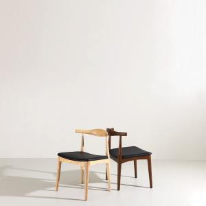 Osaka Halved-Arm Chair