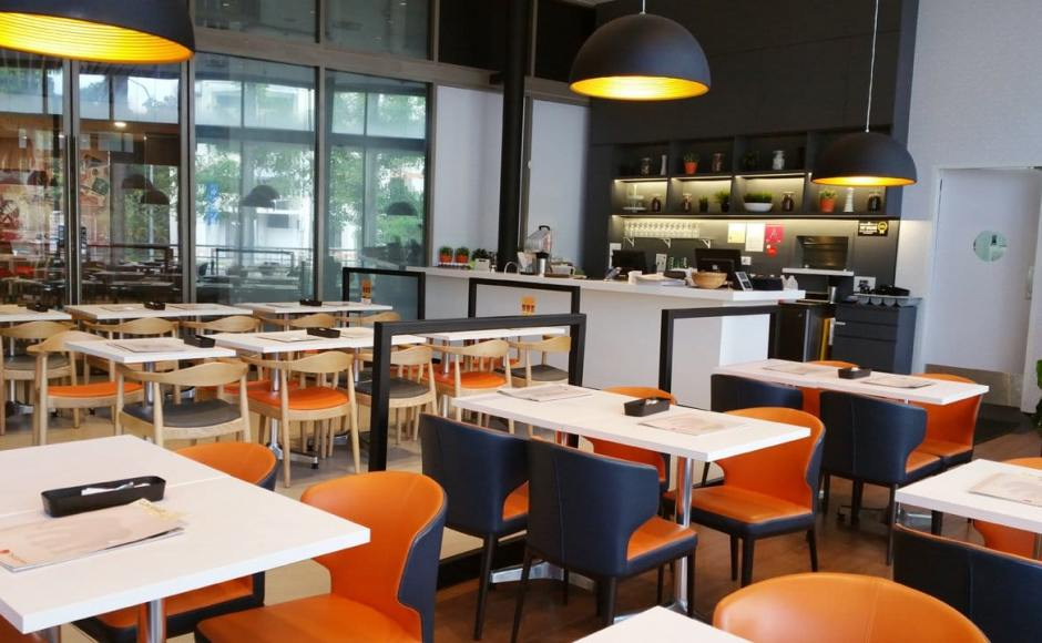 Thai Express - Hougang 1 | Products Seen: [Elephant Chair, Osaka Armchair & Customised Tabletop with Lulu Table Base – 3 Prong]<br />