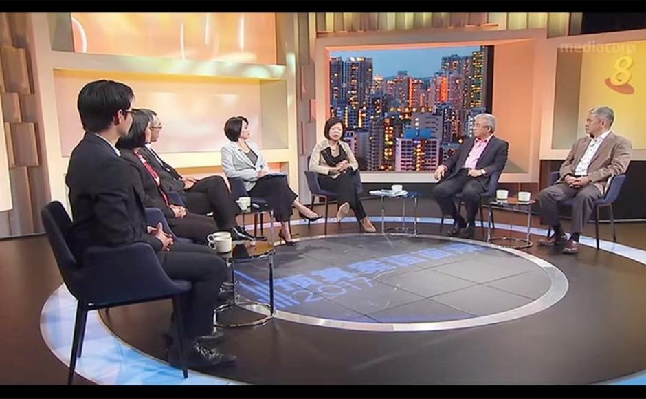Budget Forum 2017, MediaCorp's Channel 8 | Product Seen: [Fondue Armchair]