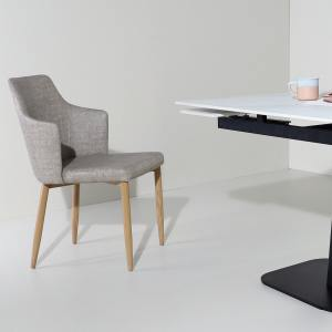 Corine Halved-Arm Chair - V2