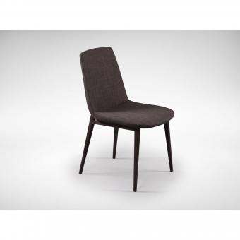 Fondue Side chair - Dark Grey