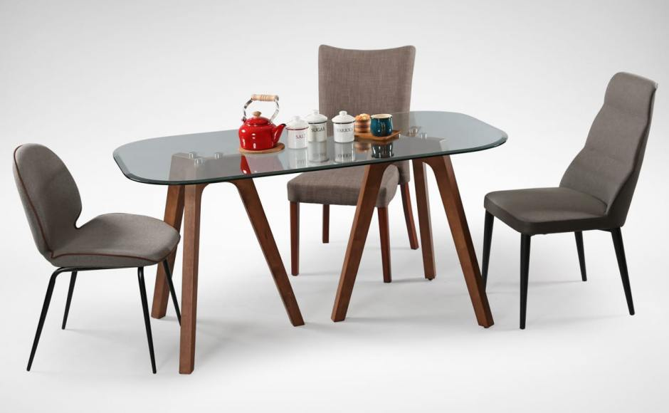 [Murphy Chair, Tripod Dining Table, Macau Chair &amp; Abby Chair]<br />