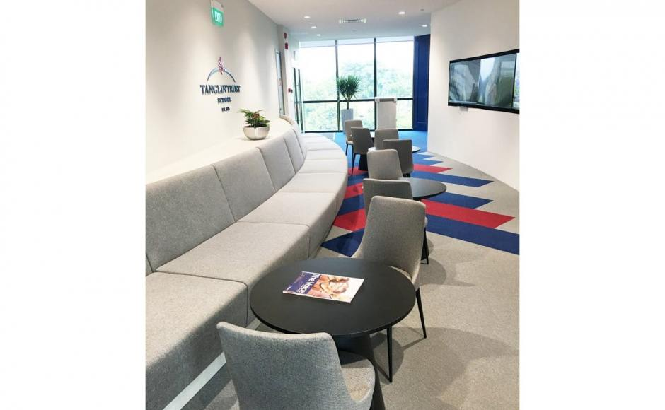 Tanglin Trust School – Portsdown Road |  Products seen: [Dion Sidechair & Spheres Dining Table - Customisable]