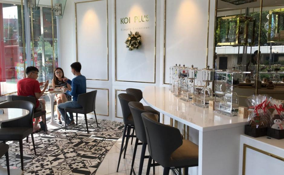 Koi Plus - Plaza Singapura | Product Seen: [Elephant Barchair SH750, Elephant Sidechair &amp; Megan Dining Table]<br />