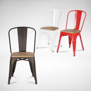Alex Side Chair - Wood Seat