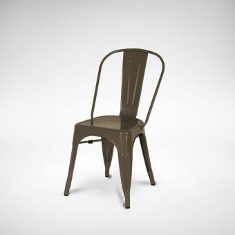 Leo Side Chair - Steel Seat
