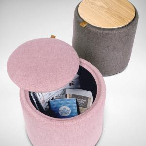 Alicia Storage Stool/Coffee Table