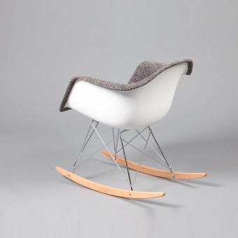 Gum – Half Fabric + Rocking Arm chair