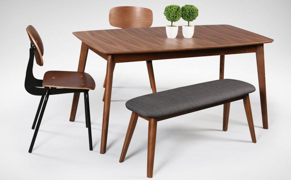 [Masso Dining Table, Savvy Sidechair, Spark Sidechair V2 & Barett Bench]<br />
