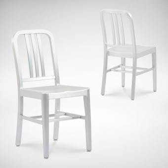 Native Side chair Aluminium