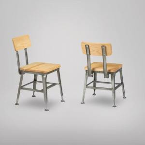 Lick Side Chair – Wood