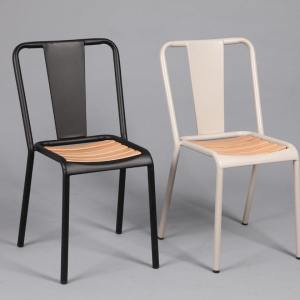 Blake Wood Side chair - Black