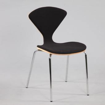 Alfa Side Chair – Half Upholstery