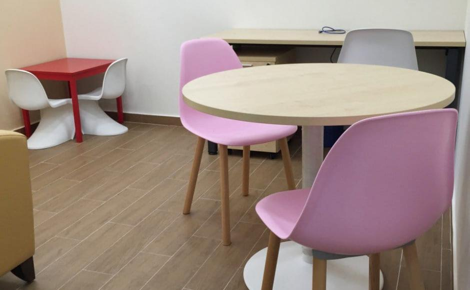 SH Integrated Services - Clementi | Products Seen: [Argo + Round Leg Chair &amp; Panton Kids]<br />
