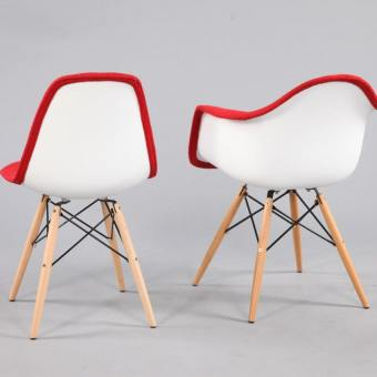 Argo – Half Fabric + Tower Chair
