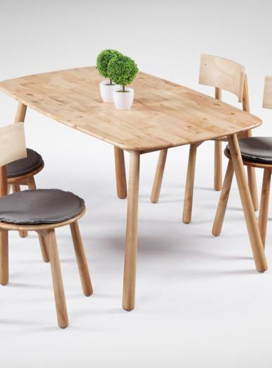 Rounded Corner Tables that makes adults and kids happy