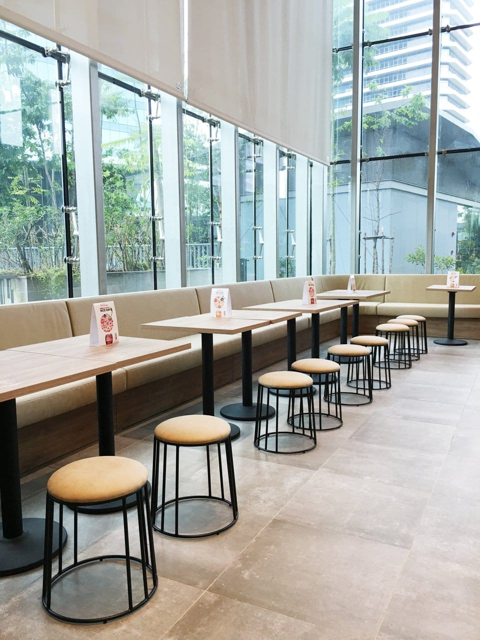Kitchen Loft - MapleTree Business City | Product Seen: [Campus Stool]<br />