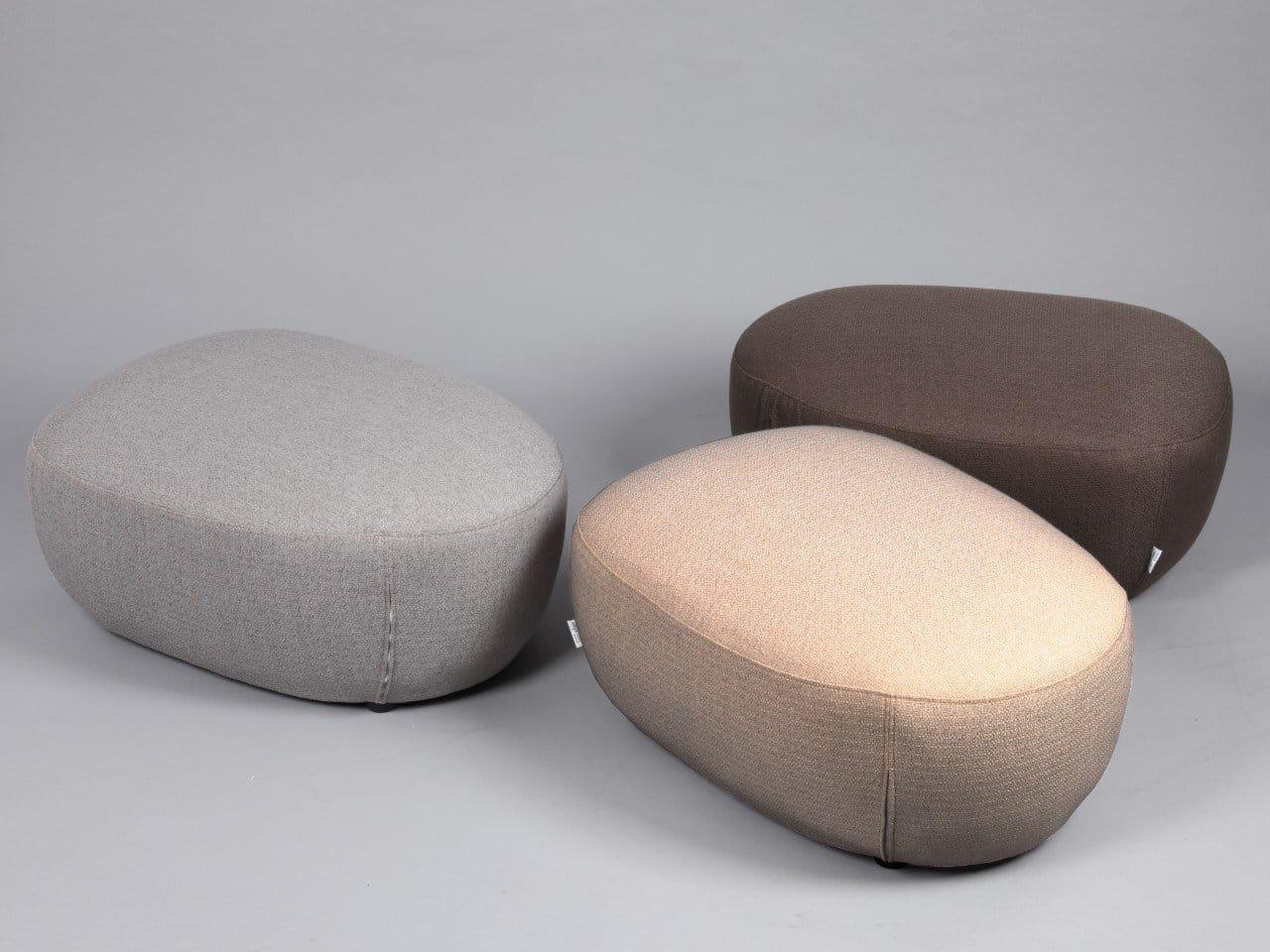 Pebble StoolOttoman Comfort Design The Chair amp Table
