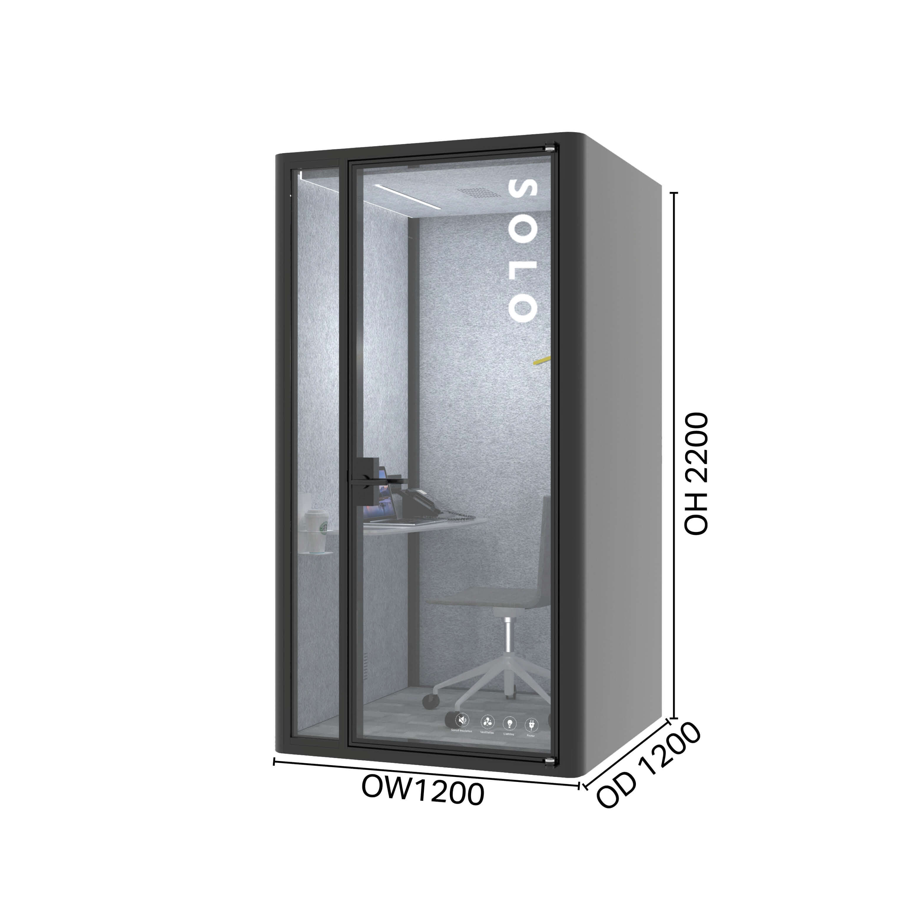 Lull Privacy pod - Solo
