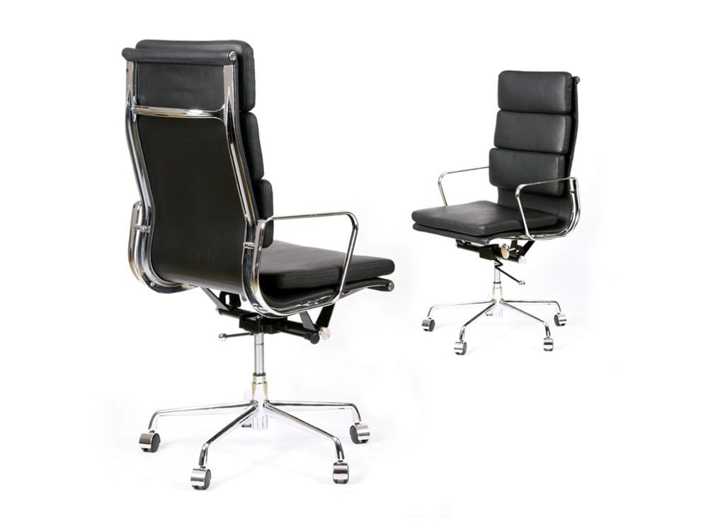 eames soft pad highback replica office chair