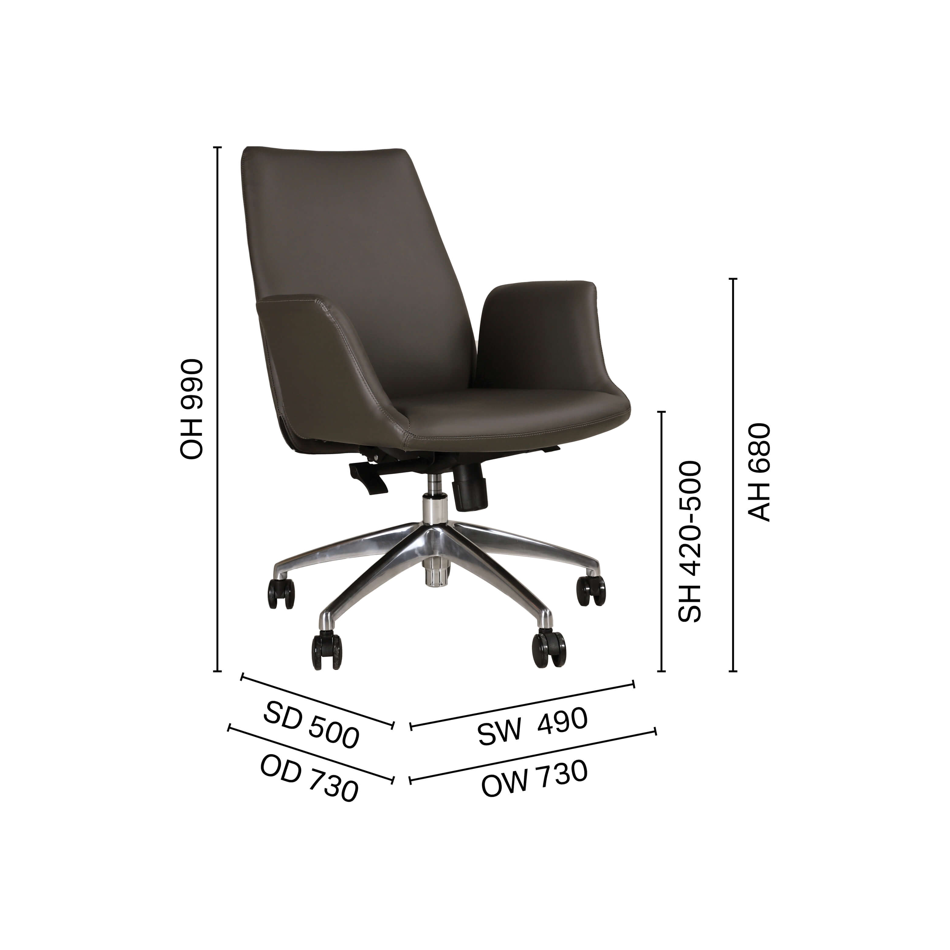Wesson Midback Office Chair