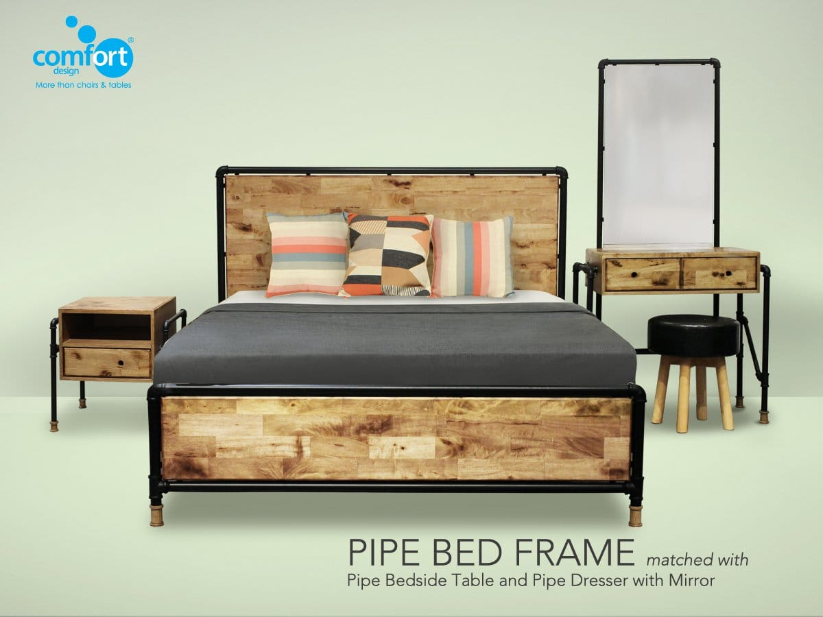 pipe bed frame for sale singapore super single comfort design