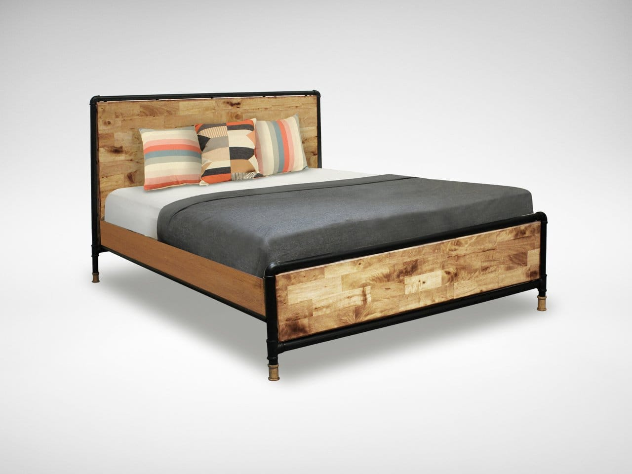 Pipe Bed Frames for Sale Singapore – King Size | Comfort Design ...