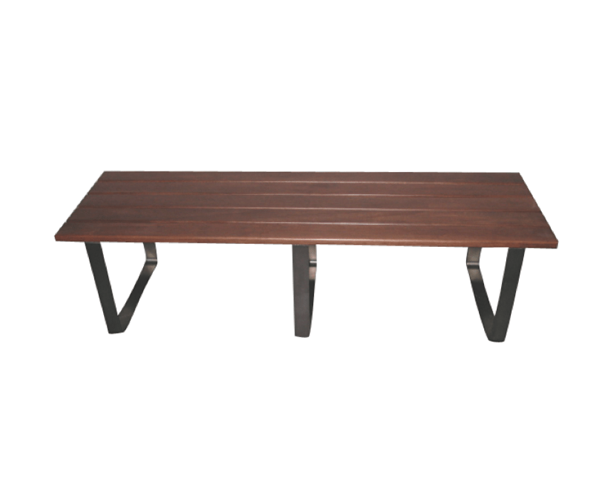 Bourne Bench Stainless Steel