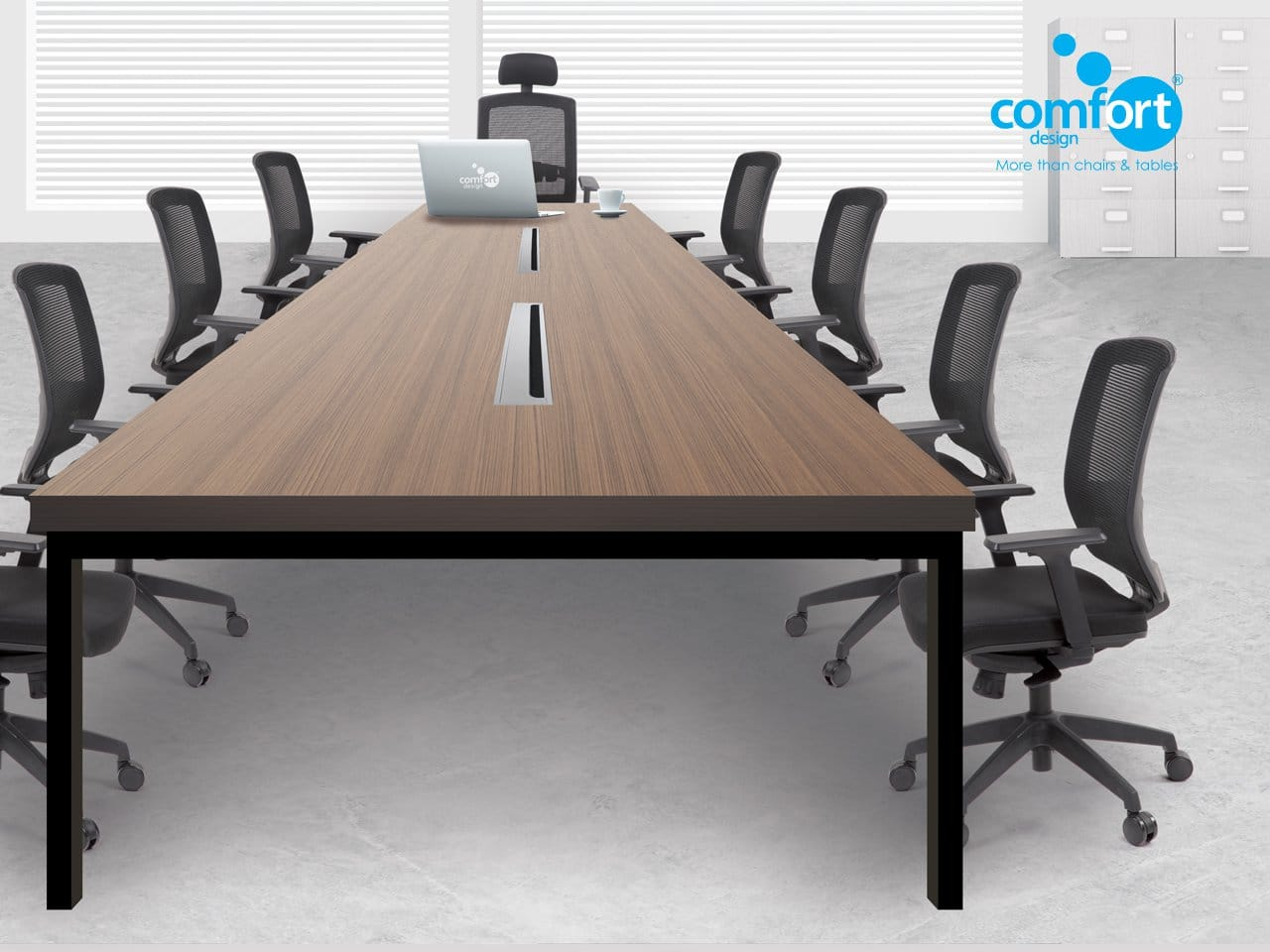 office cable management. Cable Management Table With Customised Leg Office
