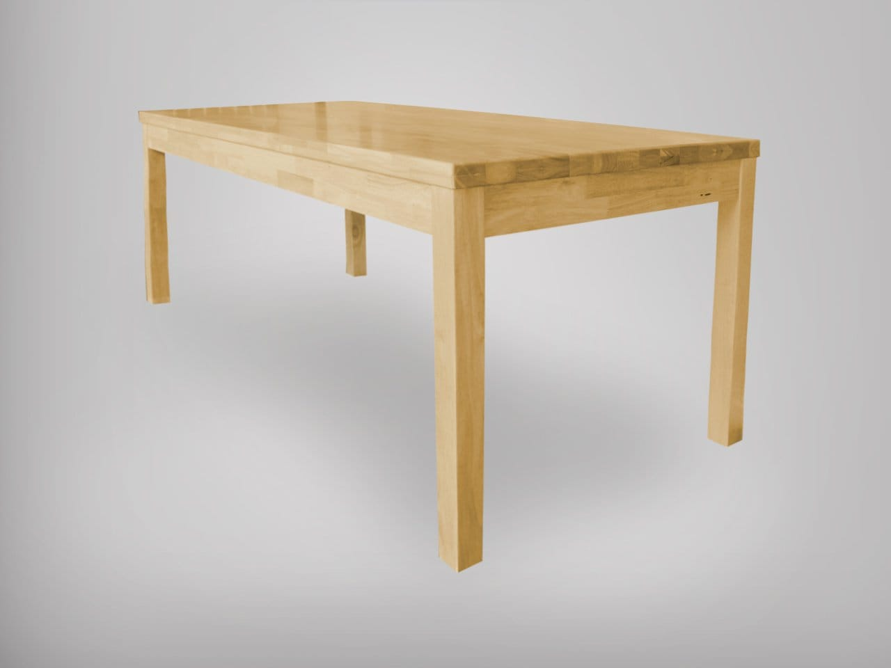 Clean rubberwood comfort design the chair table people for Table design latex