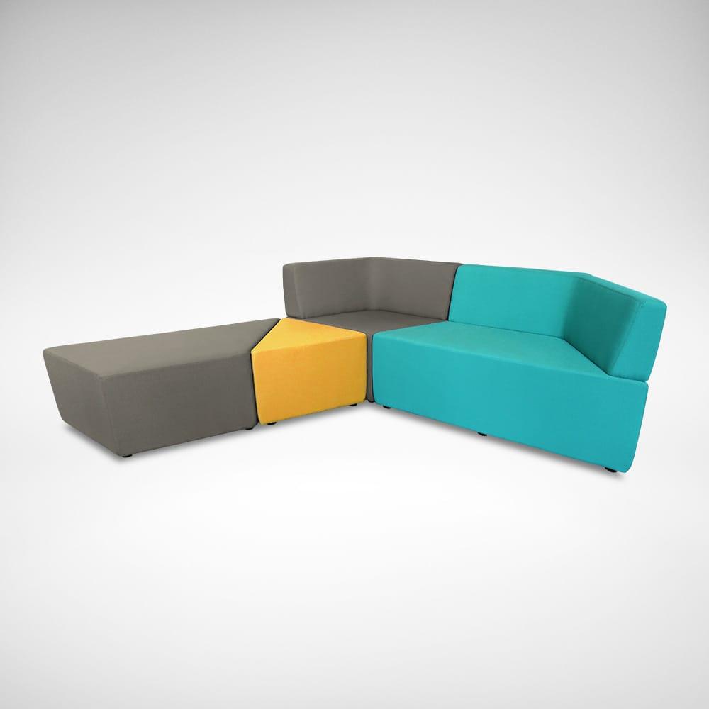 Rio Trapezium Arm Sofa (Modular)