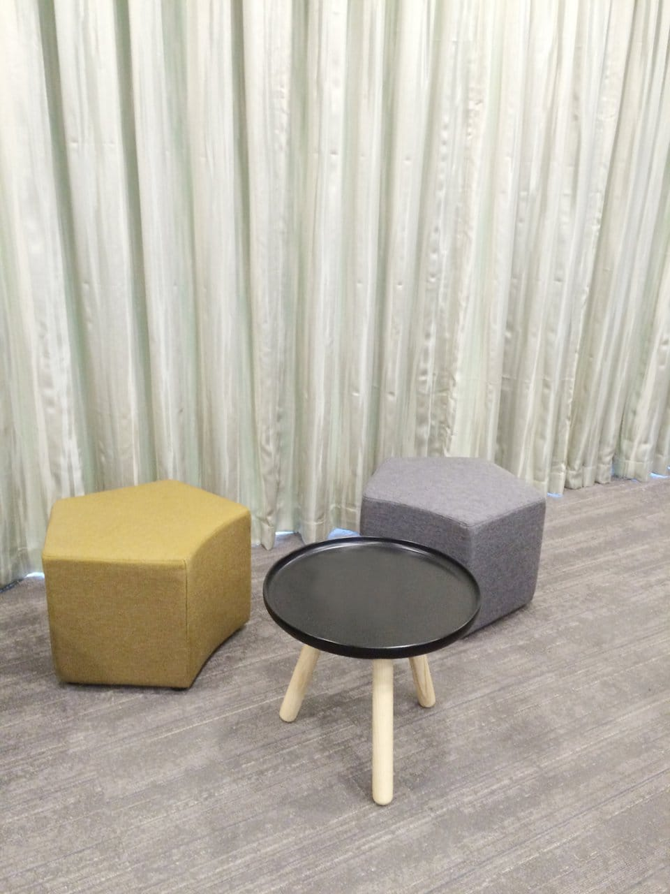 Expedia - New Bridge Road | Products Seen: [Seed Modular Stool & Lucy Coffee Table]<br />