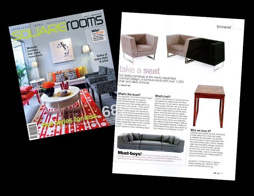 Square Rooms Magazine - January 2012 Issue