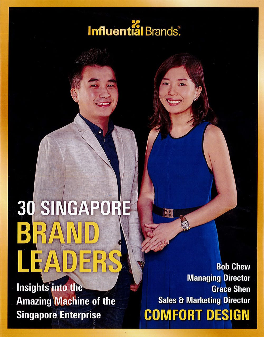 Influential Brands' book - 30 Singapore Brand Leaders