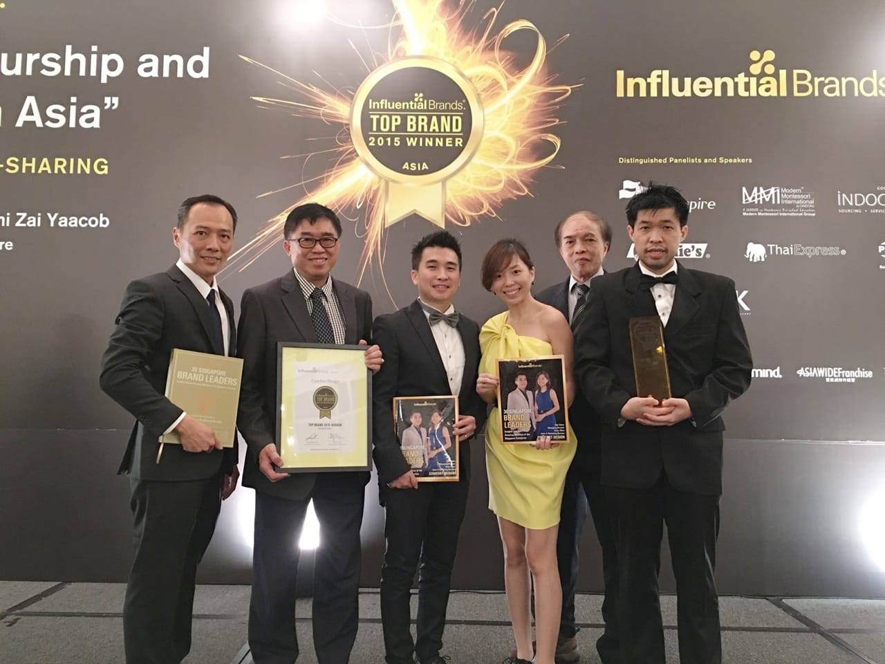 Influential Brands Awards 2015