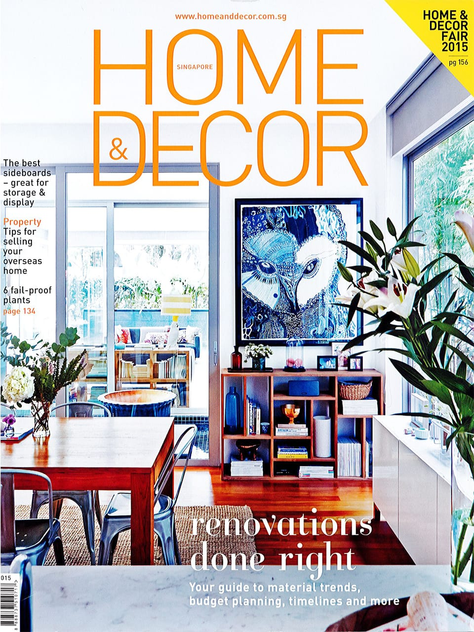 Home & Decor - September 2015 Issue