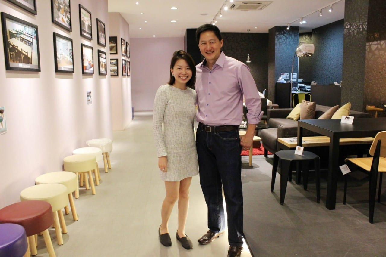 Steven Chia, producer and presenter at Channel News Asia, dropped by our showroom.