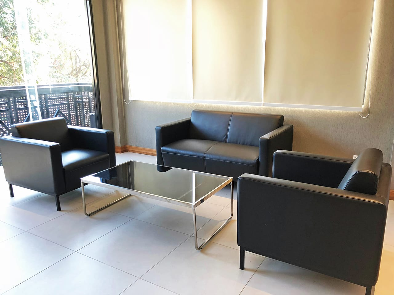 Cotta coffee table rect comfort design the chair for Outdoor furniture yangon