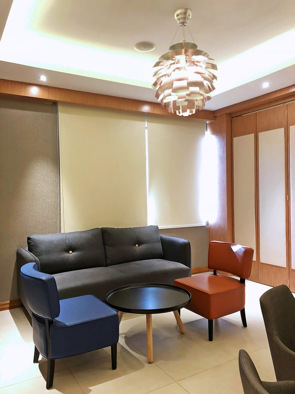 Fisherman's Wharf Restaurant, 8 Miles - Yangon, Myanmar | Product Seen: [Bruffon 3–Seater Sofa - Dark Blue, Leopard 1–Seater Sofa & Lucy Coffee Table – Big]