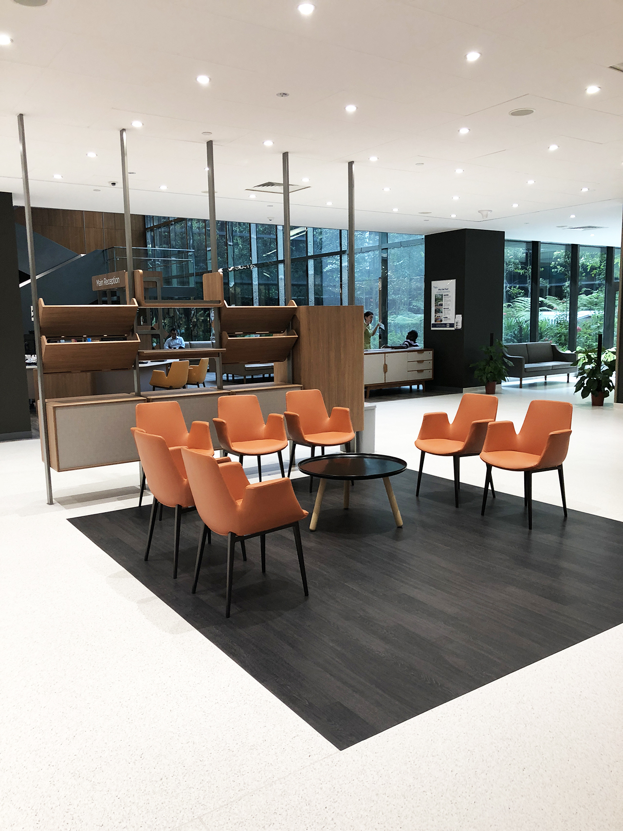 Admiralty Medical Centre - Woodlands Drive | Product seen: [Fondue Armchair & Lucy Coffee Table – Big]
