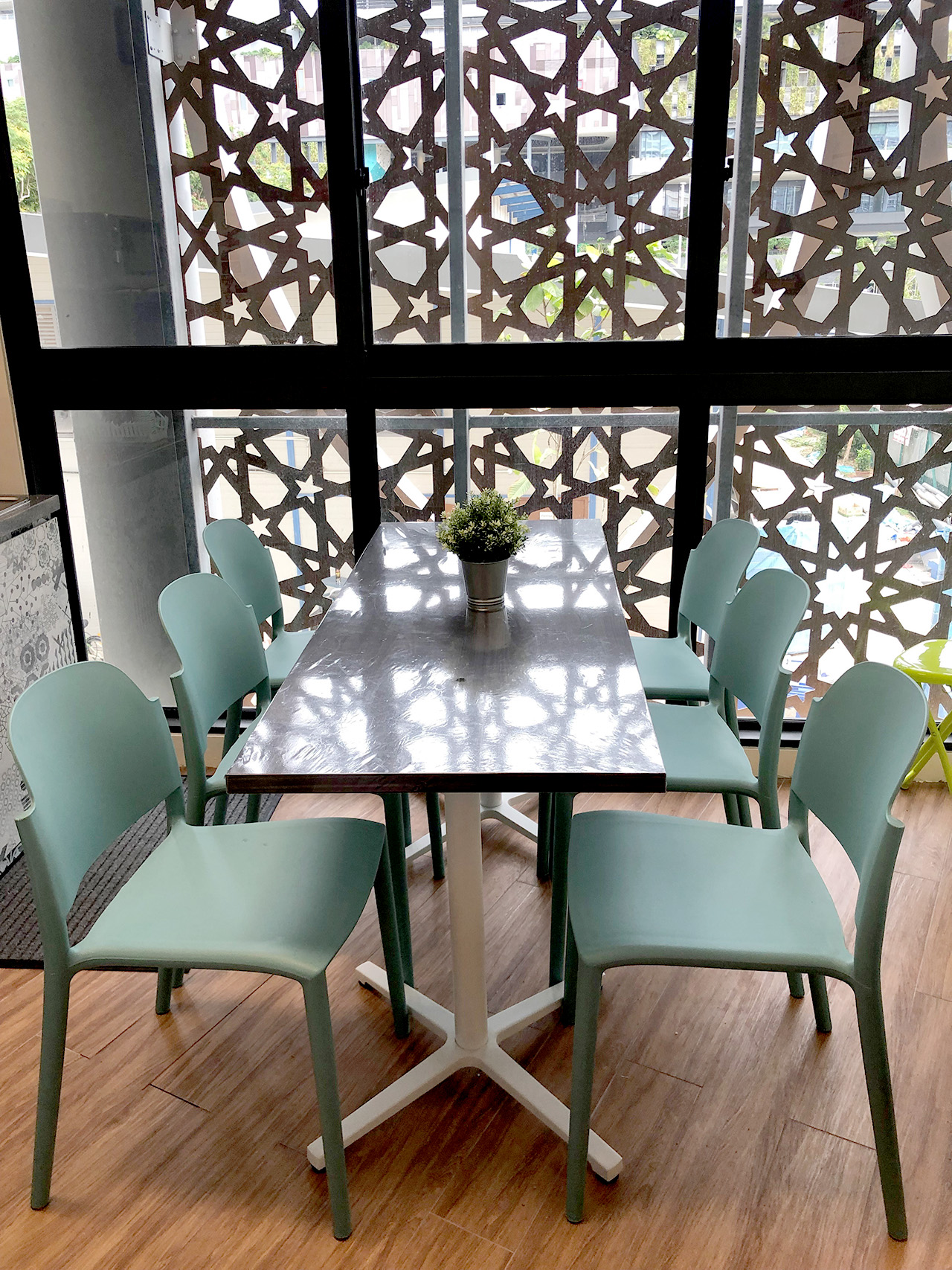 Darul Ghufran Mosque - Tampines | Product Seen: [Doreen Side chair & Customised Laminated Tabletop + Grit Non-foldable Table Base]